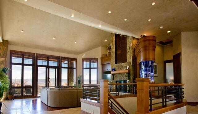 Living Room and Fish Tank